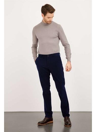 Ermenegildo Zegna Ermenegıldo Zegna Pantolon Erkek Lacıvert Regularfıt / Rahat Kalıp Std Pantolon Lacivert